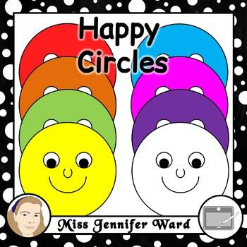 Happy Circles Clipart