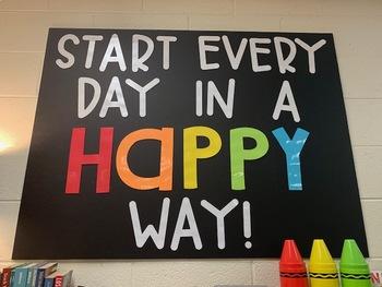 Happy Classroom Quote