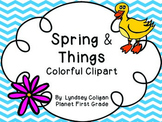 Out of This World Clipart: Bright Spring Clipart