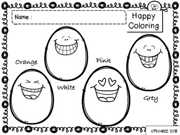 Happy Coloring Pages