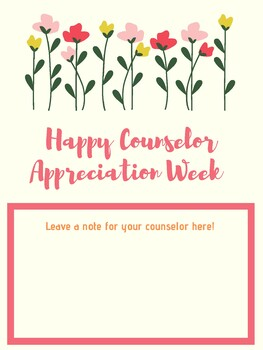 Happy Counselor Week