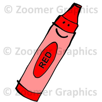 Happy Crayons Clipart