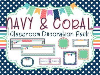 """Happy Day"" Classroom Decor Pack- *EDITABLE*"