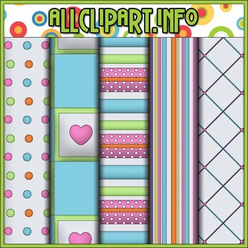 Happy Day Digital Papers