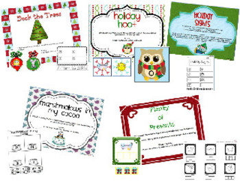 Happy December {Math and Literacy Activities for the Common Core}