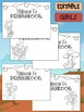Happy Desk Coloring Sheets First Day of School, Preschool, Editable Cowboys