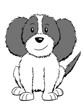 Happy Dogs! Mad Mama! Coloring Pages