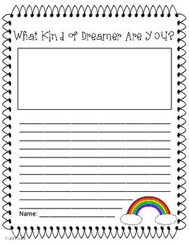 Happy Dreamer Writing by Peter H. Reynolds