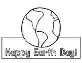 Happy Earth Day Headband