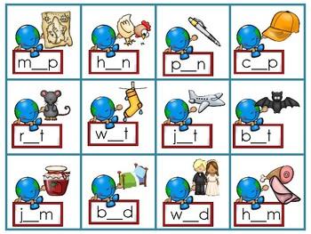 Happy Earth Literacy Centers