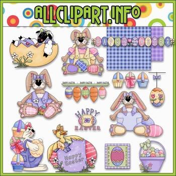 Happy Easter Clip Art - Alice Smith Clip Art