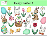 Happy Easter! Clip Art