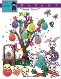 Happy Easter Clip Art Bundle
