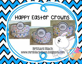 Happy Easter Crowns