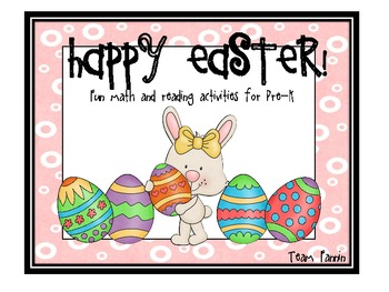 Happy Easter: Fun Math and Literacy Activities for Pre-K