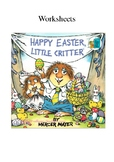 Happy Easter Little Critter Worksheets