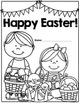 Happy Easter: Math & Literacy workbook/activity pages