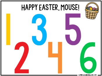 Happy Easter, Mouse Activity