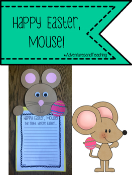 Happy Easter, Mouse! {Craftivity}