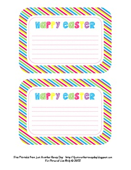 Happy Easter Note Card