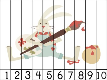 Happy Easter! Number Puzzles