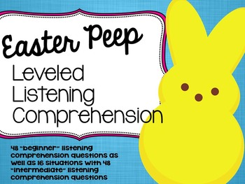 Happy Easter Speech and Language Bundle