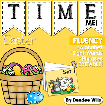 Dolch Word Fluency:  Time Me!  Easter
