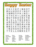 Happy Easter WordSearch