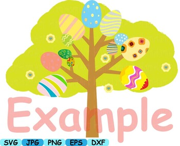 Happy Easter clip art svg eggs Bunny Egg Spring Flowers animals sheep LAMB -148s