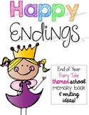 Happy Endings-a Fairy Tale Themed end of year Memory Book