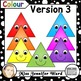 Happy Equilateral Triangles Clipart