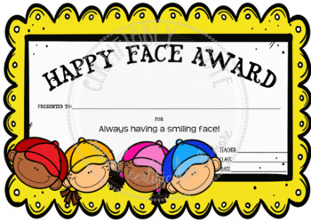 Happy Face Award