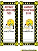 Smiley Face, Happy Face Classroom Passes