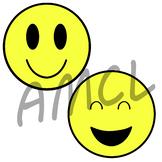 Happy Face Emojis