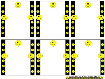 Smiley Face, Happy Face Notes