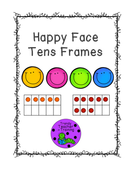 Happy Face Tens Frames