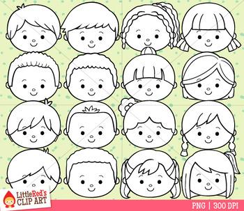Happy Faces Clipart