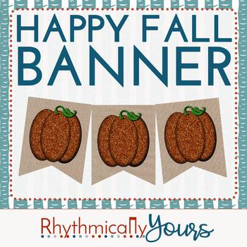 Happy Fall Banner