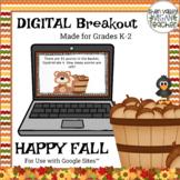 Happy Fall - Digital Breakout