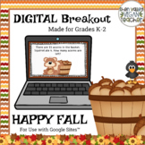 Digital Breakout Escape Room - Autumn Fall Digital Breakout