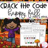 Happy Fall FREEBIE: Crack the Code | Print & Digital Slides