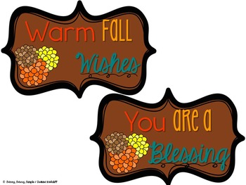 Happy Fall Gift Tags!
