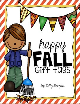 Happy Fall Gift Tags