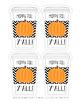Happy Fall Y'all Gift Tags - Pumpkin