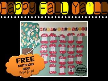 Happy Fall Ya'll