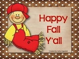 Happy Fall Y'all Banner