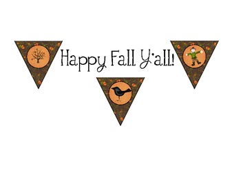 Happy Fall Y'all Free Banner