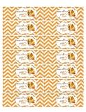 Happy Fall Y'all Pencil flags-Fall printable