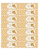Happy Fall Y'all Pencil flags-Fall printable