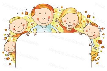 Happy Family Frame